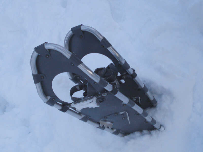 Modern snow shoes